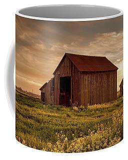 Galt Barn At Sunset Coffee Mug