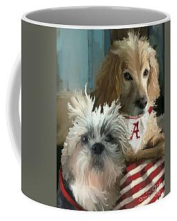 Game Day Coffee Mug by Carrie Joy Byrnes