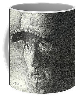 Game Face Coffee Mug by Lawrence Tripoli