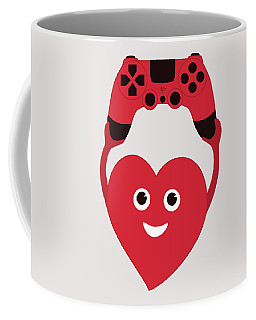 Gamer Heart Coffee Mug