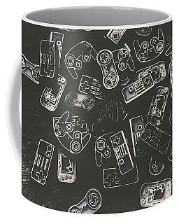 Gamers Of Arcade  Coffee Mug