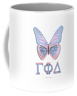 Gamma Butterfly Wings 3d Coffee Mug