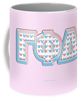 Gamma Phi Delta Greek Coffee Mug