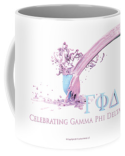 Gamma Phi Delta Splash Coffee Mug