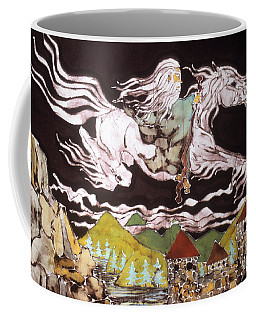 Gandalf And Shadowfax Coffee Mug