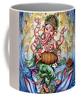 Ganesha Dancing And Playing Mridang Coffee Mug