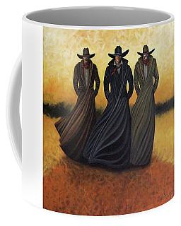 Gang Of Three Coffee Mug by Lance Headlee