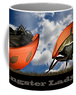 Gangster Ladybugs Nature Gone Mad Coffee Mug