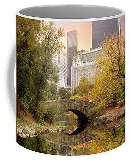 Gapstow Bridge Reflections Coffee Mug