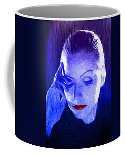 Garbo Coffee Mug by Caito Junqueira