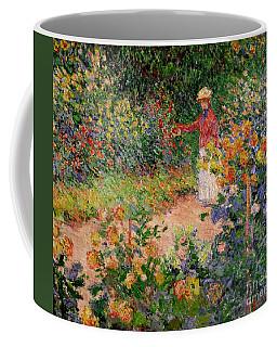 Garden At Giverny Coffee Mug