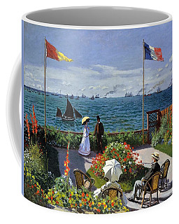 Garden At Sainte Adresse By Claude Monet Coffee Mug