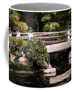 Garden Bridge Coffee Mug by Ed Clark