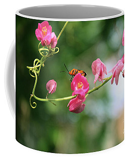 Coffee Mug featuring the photograph Garden Bug by Megan Dirsa-DuBois