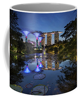 Coffee Mug featuring the photograph Garden By The Bay, Singapore by Pradeep Raja Prints