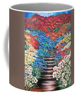 Flying Lamb Productions              Redwhiteandblue   Garden Cascade Coffee Mug