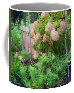 Garden Chairs Coffee Mug by Larry Bishop