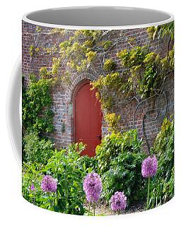 Garden Door - Paint With Canvas Texture Coffee Mug