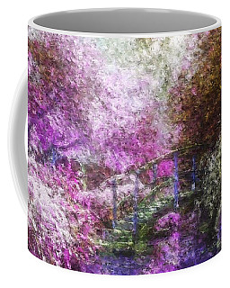 Coffee Mug featuring the painting Garden Dream by Mark Taylor