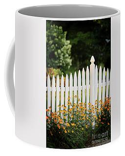 Garden Fence Coffee Mug by Nicki McManus