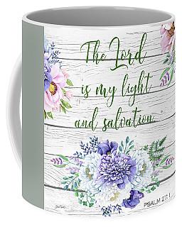 Garden Florals Bible Verse-c Coffee Mug