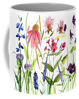 Garden Flowers Coffee Mug by Laurie Rohner