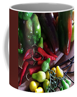 Garden Fresh Produce Coffee Mug