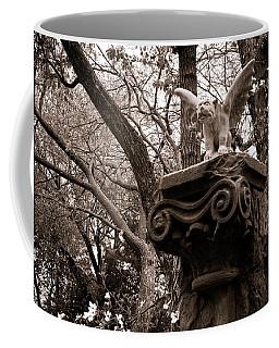 Coffee Mug featuring the photograph Garden Gargoyle  by Toni Hopper