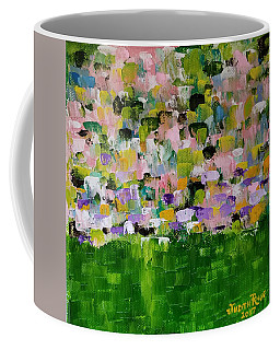 Coffee Mug featuring the painting Garden Glory by Judith Rhue