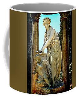 Coffee Mug featuring the photograph Garden Goddess by Lori Seaman