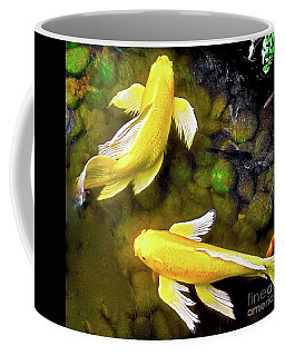 Garden Goldenfish Coffee Mug