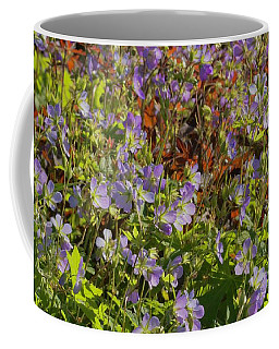 Garden In Morning Sun Coffee Mug