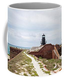 Garden Key Light And Fort Jefferson Coffee Mug
