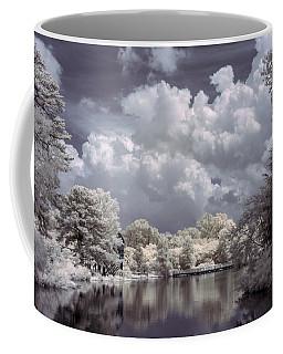 Garden Lake In Infrared Coffee Mug