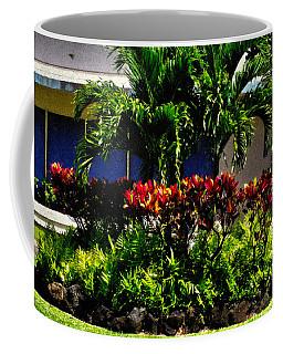 Garden Landscape 4 In Abstract Coffee Mug