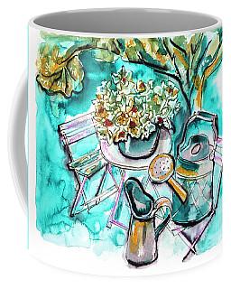 Garden Life Illustration Coffee Mug