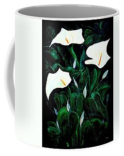 Garden Lilies Coffee Mug