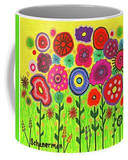 Garden Of Blooming Brilliance Coffee Mug