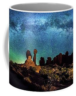 Garden Of Eden Milky Way Panorama Coffee Mug
