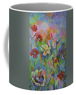 Garden Of Intention - Triptych Center Panel Coffee Mug