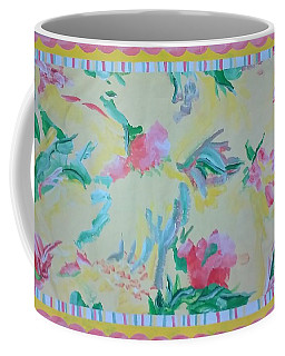 Garden Party Floorcloth Coffee Mug