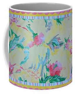 Garden Party Floorcloth Coffee Mug by Judith Espinoza