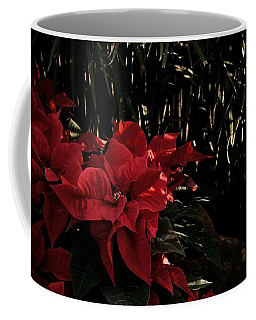 Garden Poinsettias Coffee Mug by Tim Good