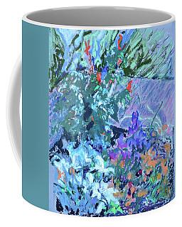 Garden Riot - Blue Coffee Mug