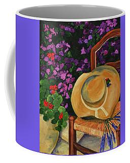 Garden Scene Coffee Mug
