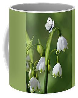 Garden Snowdrops Coffee Mug