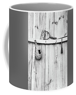 Coffee Mug featuring the photograph Garden Tools by Rebecca Cozart