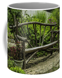 Garden Tree Bench Coffee Mug