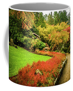 Coffee Mug featuring the photograph Garden Walk by Steven Sparks