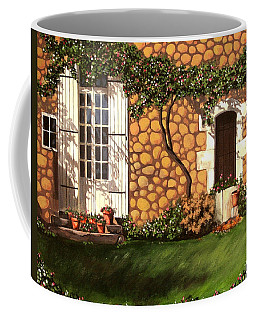 Garden Wall Coffee Mug